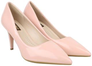 Flat n Heels Pumps For Women ( Pink ) 1 Pair