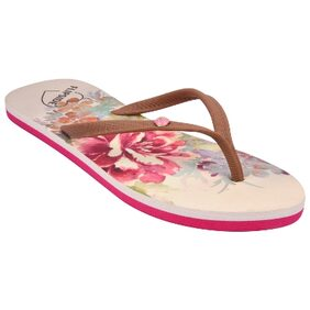 Flipside Womens Forever New Pink Slippers