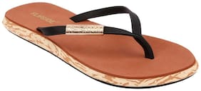Flipside Womens Meera Brown Slippers