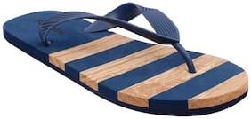 Flipside Men Blue Flip-Flops -
