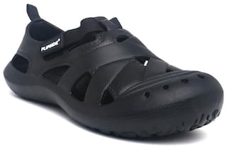 aecb7ca25989 Buy Flipside Men Black Sandals   Floaters Online at Low Prices in ...
