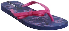 Flipside Womens Anne Purple Flipflops