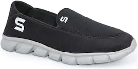SPIFFERS Men Black & Grey Casual Shoes