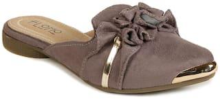 FLOMO Women Grey Sandals