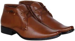 Floxtar Men's Tan Outdoor Boots