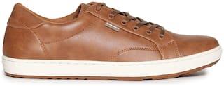 Flying Machine Men Brown Sneakers