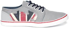Flying Machine Men Grey Sneakers