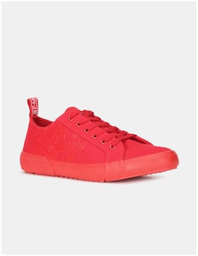 Men Red Classic Sneakers