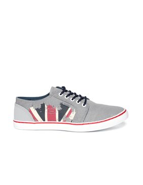 Flying Machine Men Grey Sneakers - Lis9sw6jx1s