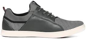 Flying Machine Men Grey Sneakers - Idh0b72gpea