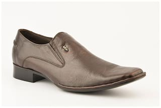 8be2529c260 Buy Lee Cooper Men Brown Formal Shoes - Lc9895 Online at Low Prices ...