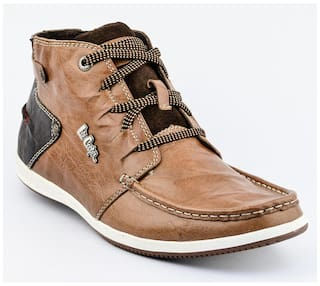 e609ecd68f5 Buy Lee Cooper Men Brown Casual Shoes - Lc2016 Online at Low Prices ...