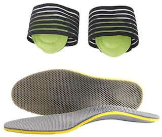 49636be01da Footful Arch Support Pad + Shoes Insert Plantar Fasciitis Insole Heel Pain  Relief. World Store