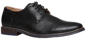 FOOTIN Men Black Formal Shoes
