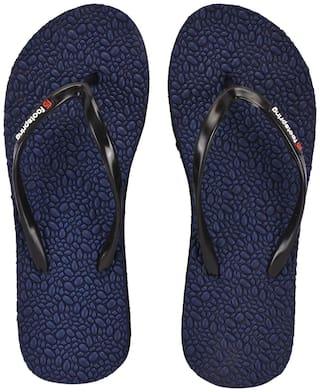 FOOTSPRING Women Navy Blue Slippers