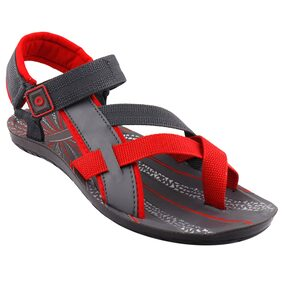 Foot Stair Men Grey Sandals & Floaters