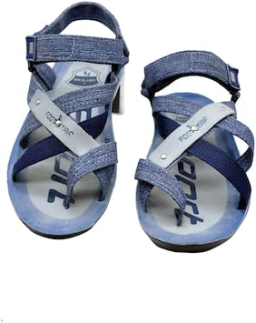 Foot Stair Men Blue Sandals