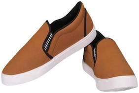 Foot Stair Men Brown Casual Shoes