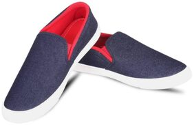 Foot Stair Men Red Loafer