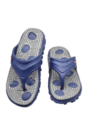 Foot Stair Men Blue Flipflop