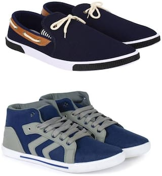 Foot Stair Men Multi-Color Casual Shoes