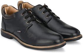 Tor Derby Formal Shoes For Men ( BLACK )