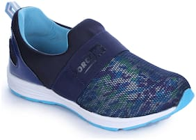Liberty Women Walking Shoes ( Blue )