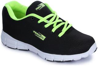 Liberty Men Running Shoes ( Black )