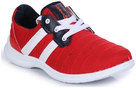 Liberty Men Running Shoes ( Red )