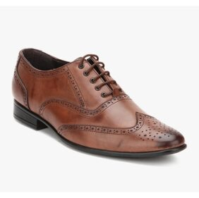 San Frissco Brown Formal Shoes