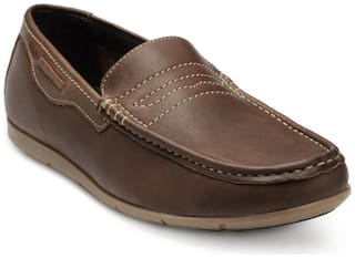 Franco Leone Men Brown Casual Shoes