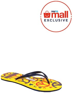 Franco Leone Yellow Slippers_And_Flip_Flops