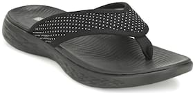 Franco Leone Men Black Flip-Flops - 1 Pair