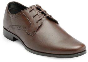 Franco Leone Men Brown Formal Shoes