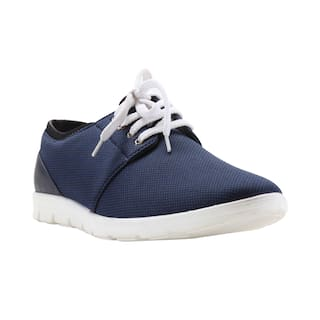 Franco Leone Men Blue Casual Shoes
