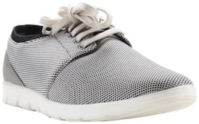 Franco Leone Men Grey Casual Shoes