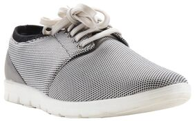 Franco Leone Men Grey Casual Shoes - 162102