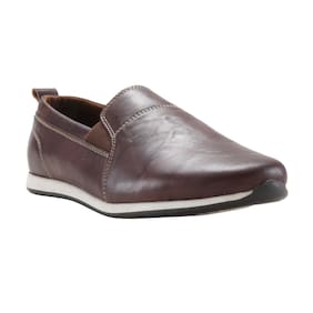 Franco Leone Men Brown Casual Shoes - 162202