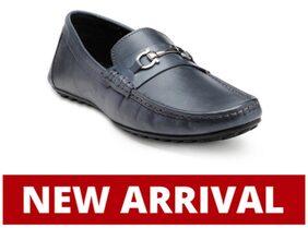 Franco Leone Men Blue Formal Shoes