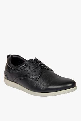 Franco Leone Men Black Casual Shoes - 171110