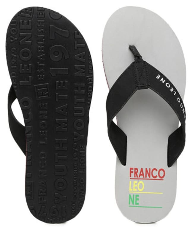Franco Leone Men Grey Flipflop