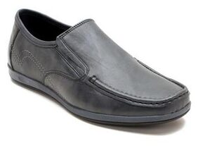 Franco Leone Black Synthetic Leather Casual_shoes