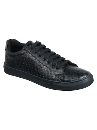 Franco Leone Men Black Sneakers