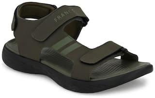 Franco Leone Men Olive Sandals