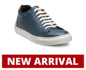 Franco Leone Blue Synthetic Casual_Shoes