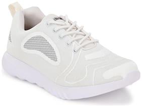 Franco Leone Men Running Shoes ( White )