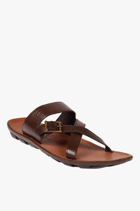 Franco Leone Men Brown Outdoor Slippers