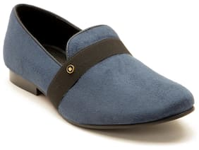 Franco Leone Men Blue Casual Shoes - 9795