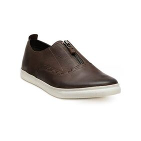 Franco Leone Brown Leather Casual_Shoes