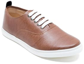 Franco Leone Men Tan Sneakers - 15020